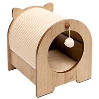 "Catit Vesper Minou Bench Scratcher - 36 x 36.5 x 40.5 cm (14.17"" x 14.37"" x 15.94"")"