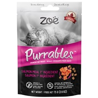 Zoë Purrables Cat Treats - Salmon - 75 g (2.6 oz)