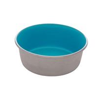 Dogit Stainless Steel Non-Skid Dog Bowl - Blue - 560 ml (19 fl.oz.)