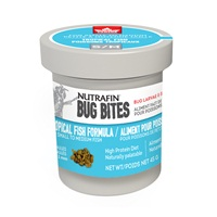 Nutrafin Bug Bites Tropical Formula - Small to Medium - 0.7-1.0 mm granules - 45 g