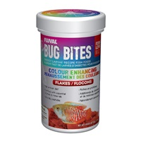Fluval Bug Bites Colour Enhancing Flakes - 45 g (1.58 oz)