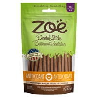Zoë Dental Sticks for Dogs – Antioxidant - Cinnamon Flavour - 175 g (6.2 oz)