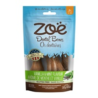 Zoë Dental Bones - Vanilla and Mint Flavour - Large - 253 g (8.9 oz)