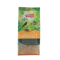 Living World Original Seed Diet For Finches - 400 g (14 oz)