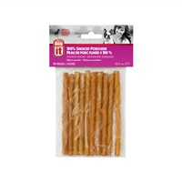 """Dogit Smoked Porkhide Twist - Small - 12.5 cm (5"""") - 10 pack"""