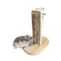 "Living World Green Water Bottle & Treat Stand - Small - 15 cm x 22.5 cm x 26.5 cm (6"" x 9"" x 10.4"")"