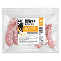 Nutrience Subzero Raw Bones for Dogs - Chicken Necks - 454 g (1 lb) - 10 pack
