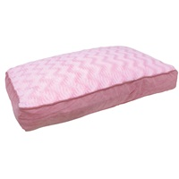 "Dogit Style Rectangular Mattress Dog Bed-Wild Animal, Pink, Small. 80cm x 55cm x 11.5cm (31.5"" x 21.5"" x 4.5"")."