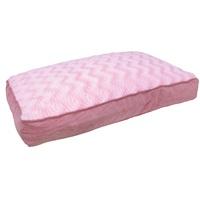 "Dogit Style Rectangular Mattress Dog Bed-Wild Animal, Pink, Small. 80cm x 55cm x 11.5cm (31.5"" x 21.5"" x 4.5"")."