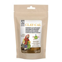 HARI Clay-Cal Bentonite Clay Supplement for Birds - 250 g (0.55 lb)