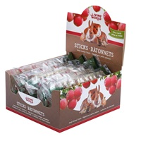 Living World Small Animal Sticks - Apple Flavour - 45 g (1.5 oz) - 12 pack
