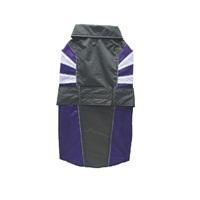 Dogit Spring/Summer 2011 Large Dog Clothing Collection - Burst-Pattern Raincoat - Purple - Large