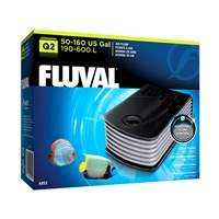 Fluval Q2 Air Pump - 190 - 600 L (50 - 160 US gal)