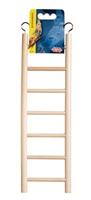 """Living World Wooden Bird Ladder - 7 Steps - 30 cm (12"""") Long"""