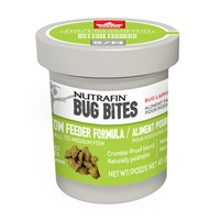 Nutrafin Bug Bites Bottom Feeder Formula - Small to Medium - 1.4-1.6 mm granules - 45 g
