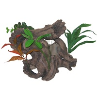 Marina Polyresin Aquarium Ornament - Bog Wood - Large - 29 x 22 x 28.5 cm (11.4 x 8.6 x 11.2 in)