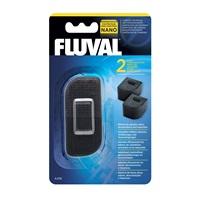 Fluval Nano Aquarium Filter Carbon Cartridge - 2 pack