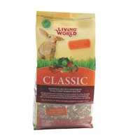 Living World Classic Vegetable Rabbit Food - 908 g (2 lb)