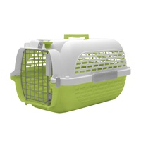 Dogit Voyageur Dog Carrier - Green/White - Medium - 56.5 cm L x 37.6 cm W x 30.8 cm H (22 in x 14.8 in x 12 in).