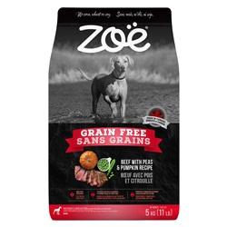 Zoë Dog Grain Free, Beef with Peas & Pumpkin Recipe