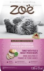 Zoë Cat Indoor Formula - Turkey with Peas & Russet Potato Recipe