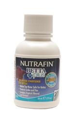 Nutrafin Betta Plus -Tap Water Conditioner for Bettas, 60 mL (2 fl oz)