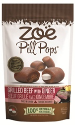 Zoe Pill Pops - Grilled Beef with Ginger - 100 g (3.5 oz)