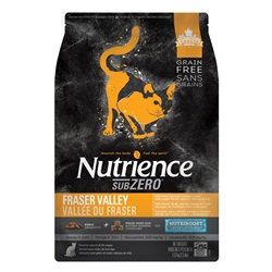 Aliment Nutrience SubZero Sans grains pour chats, Vallée du Fraser, 1,13 kg (2,5 lb)