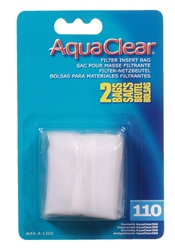 AquaClear Nylon Filter Media Bags for AquaClear 110 Power Filter - 2 pack