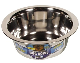 Dogit Stainless Steel Dog Bowl - Small - 400 ml (13.5 fl oz)