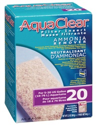 AquaClear 20 Ammonia Remover Filter Insert, 66g (2.3oz)
