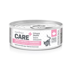 Nutrience Care Urinary Health Pâté for Cats - Fresh Chicken & Cranberries Recipe - 156 g (5.5 oz)