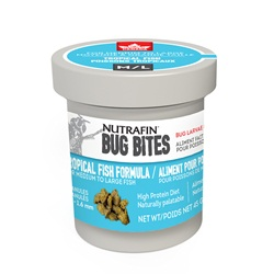 Nutrafin Bug Bites Tropical - Medium-Large - 1.4-1.6 mm - Granules for Angels/Large Gouramis