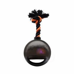 Zeus Bomber Bomb Black Tug Ball with Flashing LED