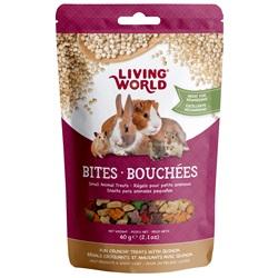 Living World Small Animal Bites with Quinoa