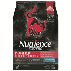 Nutrience Grain Free Subzero for Cats - Prairie Red - 1.13 kg (2.5 lbs)