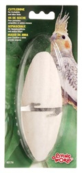 "Living World Cuttlebone with Holder - Large - 15 - 18 cm (6"" - 7"")"