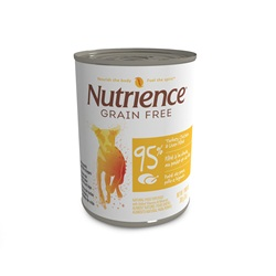 Nutrience Grain Free 95% Turkey, Chicken & Liver Pâté