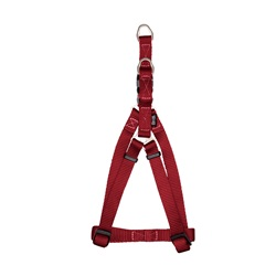 "Zeus Nylon Step-In Dog Harness - Deep Red - Small - 1 cm x 33 cm-45 cm (3/8"" x 13""-18"")"