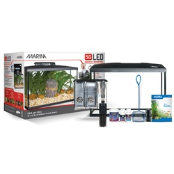 Marina 5G LED Glass Aquarium Kit - 19 L (5 US gal)