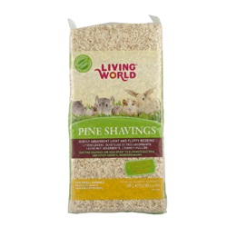 Living World Pine Shavings - 20 L