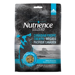 Nutrience Grain Free Subzero Freeze-Dried Canadian Pacific Treats - Salmon, Cod and Hake - 70 g (2.5 oz)
