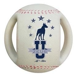 Zeus Varsity Baseball Dog Toy
