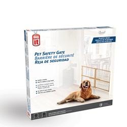 "Dogit Pet Safety Gate - Plastic Mesh - 66 cm - 106.5 cm W x 58.5 cm H (26"" - 42"" W x 23"" H)"