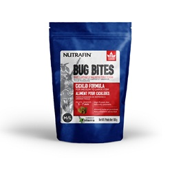 Nutrafin Bug Bites Cichlid Formula - Medium to Large - 5-7 mm pellets - 100 g