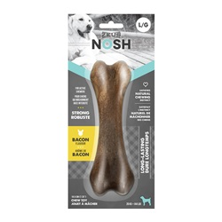 Zeus NOSH STRONG Chew Bone - Bacon Flavor - Large - 18.5 cm (7.5 in)