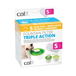 Catit Triple Action Fountain Filter