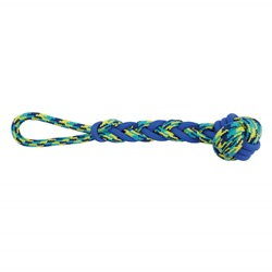 K9 Fitness by Zeus Rope and TPR Ball Tug