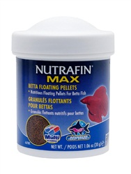 Nutrafin Max Betta Floating Pellets - 30 g (1.06 oz)