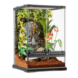 Exo Terra Tiki Mini Tall Terrarium - 30 x 30 x 45 cm (12 x 12 x 18 in)